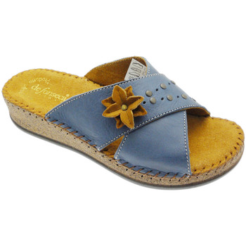 Schuhe Damen Pantoffel De Fonseca DEFONEULALIAblu blu