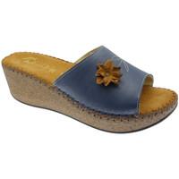 Schuhe Damen Pantoffel De Fonseca DEFONDEVOTAblu blu