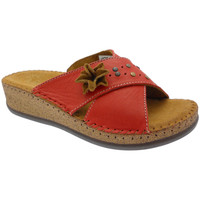 Schuhe Damen Pantoffel De Fonseca DEFONEULALIAros rosso