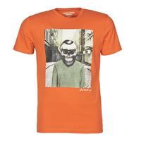 Kleidung Herren T-Shirts Jack & Jones JORSKULLING Orange