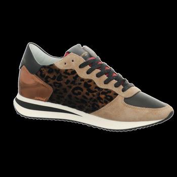 Schuhe Damen Sneaker Low Philippe Model TZLD LF02 beige