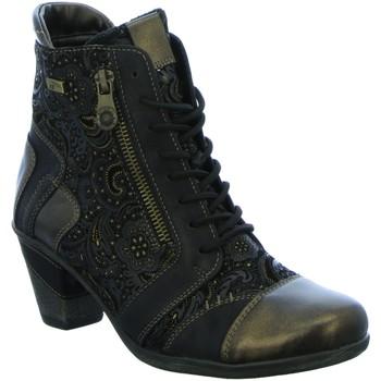 Schuhe Damen Low Boots Remonte Dorndorf Stiefeletten D879402 D87 D8794-02 schwarz