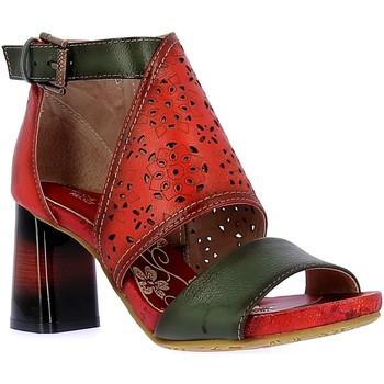 Schuhe Damen Sandalen / Sandaletten Laura Vita HACSIO03Rot rot