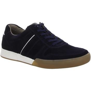 Schuhe Herren Sneaker Low Pius Gabor Schnuerschuhe NV 10081009 blau