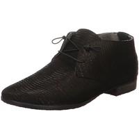 Schuhe Damen Boots Donna Carolina Schnuerschuhe 42673145W 003 schwarz