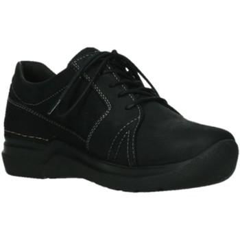 Schuhe Damen Derby-Schuhe Wolky Schnuerschuhe Feltwell 0660912-000 schwarz
