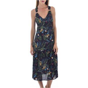 Kleidung Damen Maxikleider See U Soon 20121060B Schwarz