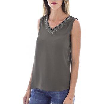 Kleidung Damen Tops / Blusen Molly Bracken G663A19 Grün