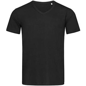 Kleidung Herren T-Shirts Stedman Stars  Schwarz