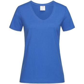 Kleidung Damen T-Shirts Stedman  Königsblau
