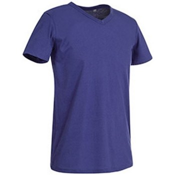 Kleidung Herren T-Shirts Stedman Stars  Tiefes Lila
