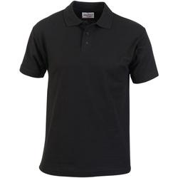 Kleidung Herren Polohemden Absolute Apparel  Schwarz