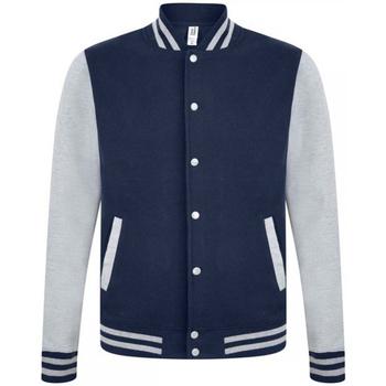 Kleidung Herren Jacken Casual Classics  Marineblau/Grau meliert