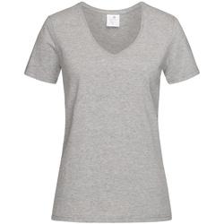 Kleidung Damen T-Shirts Stedman  Grau meliert