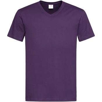 Kleidung Herren T-Shirts Stedman  Lila