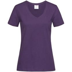 Kleidung Damen T-Shirts Stedman  Dunkellila