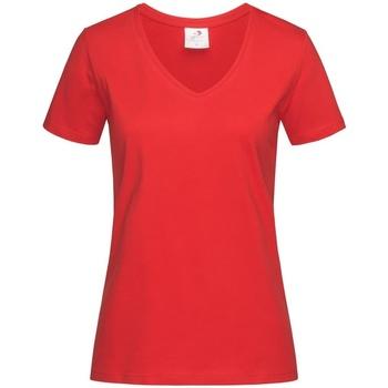 Kleidung Damen T-Shirts Stedman  Scharlachrot