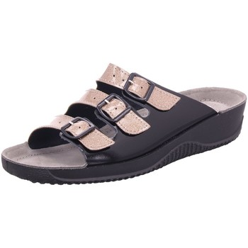 Schuhe Damen Pantoffel Rohde Pantoletten 1935/38 schwarz