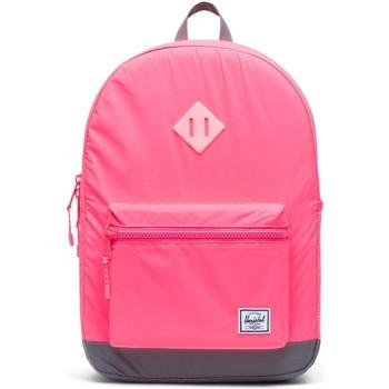 Taschen Kinder Rucksäcke Herschel Heritage Youth X-Large Pink/Silver - Reflective