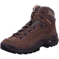 Schuhe Damen Wanderschuhe Lowa Sportschuhe RENEGADE LL MID WS 320845/0925 grau