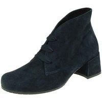 Schuhe Damen Boots Semler Stiefeletten M44023-042-080 blau