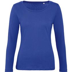 Kleidung Damen Langarmshirts B And C TW071 Kobaltblau