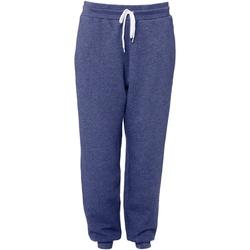 Kleidung Jogginghosen Bella + Canvas CA3727 Blau