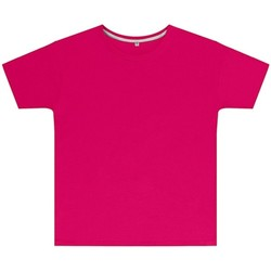 Kleidung Kinder T-Shirts Sg SGTEEK Dunkles Pink