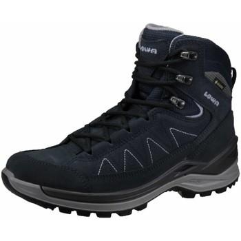 Schuhe Damen Wanderschuhe Lowa Sportschuhe TORO EVO GTX MID WS 320721 0649 blau