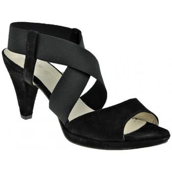 Schuhe Damen Sandalen / Sandaletten Keys HeelPlateau80sandale Schwarz