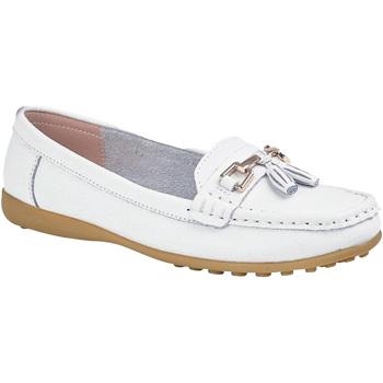 Schuhe Damen Slipper Boulevard  Weiß