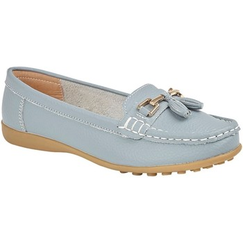 Schuhe Damen Slipper Boulevard  Hellblau