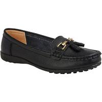 Schuhe Damen Slipper Boulevard  Schwarz