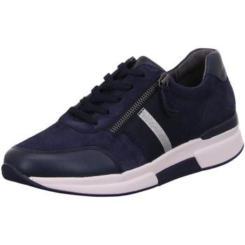 Schuhe Damen Sneaker Low Rollingsoft By Gabor Schnuerschuhe 56.928.36 blau