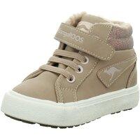 Schuhe Mädchen Schneestiefel Kangaroos Maedchen Lauflernstiefel KaVu III 01400 000 6146 beige
