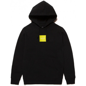 Kleidung Herren Sweatshirts Huf Sweat hood box logo Schwarz