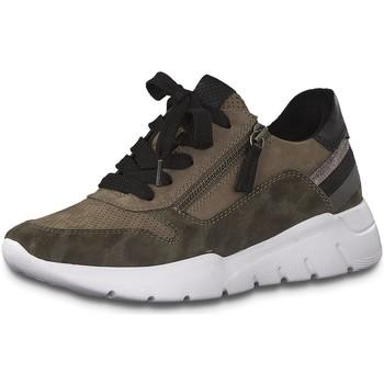 Schuhe Damen Sneaker Low Jana Schnuerschuhe 8-8-23728-25/370 braun