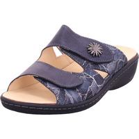 Schuhe Damen Pantoffel Portina - 42-403 schwarz