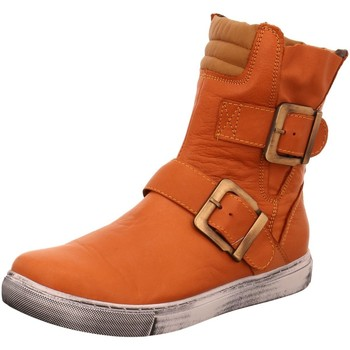 Schuhe Damen Low Boots Andrea Conti Stiefeletten Boot in Rost-Brandy 0346833-783 orange