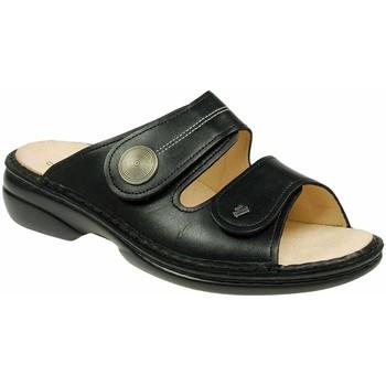 Schuhe Damen Pantoffel Finn Comfort Pantoletten 2550-014099-sansibar schwarz