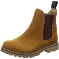 Schuhe Mädchen Boots Sabalin Stiefel Brauner boot in Chelsea Optik 54-2466 braun