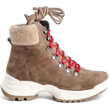 Schuhe Damen Low Boots Imac 609239 Beige