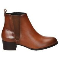 Schuhe Damen Low Boots Alma De Candela BOTINES  522 SEÑORA CUERO Marron