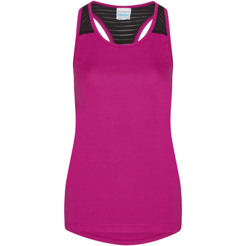Kleidung Damen Tops Awdis JC027 Dunkles Pink