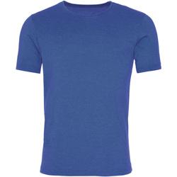 Kleidung Herren T-Shirts Awdis JT099 Wash Royal Blau