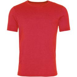 Kleidung Herren T-Shirts Awdis JT099 Wash Feuerrot