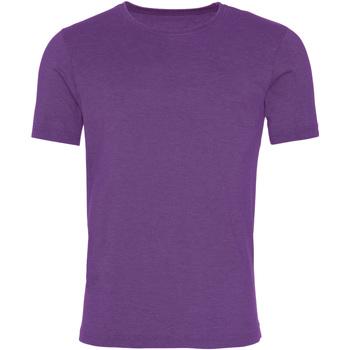 Kleidung Herren T-Shirts Awdis JT099 Wash Violett