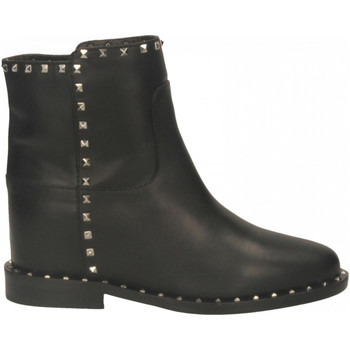 Schuhe Damen Low Boots Via Roma 15 MALIBU nero