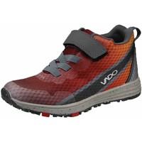 Schuhe Damen Sneaker High Vado Schnuerschuhe chili-orange-anthrazit 23302-900 rot