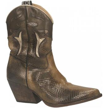Schuhe Damen Klassische Stiefel Elena Iachi WASH LIMBO militare